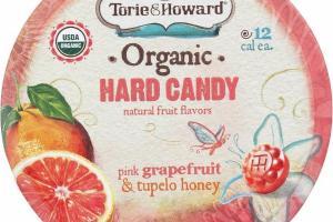 PINK GRAPEFRUIT & TUPELO HONEY ORGANIC HARD CANDY