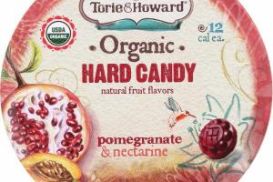 POMEGRANATE & NECTARINE HARD CANDY