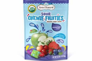 ASSORTED SOURS CHEWIE FRUITIES ORGANIC CANDY CHEWS