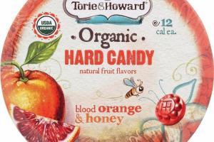 BLOOD ORANGE & HONEY HARD CANDY