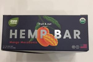 Fruit & Nut Hemp Bar
