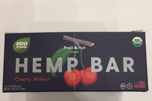 Fruit & Nut Hemp Bar