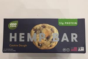 Hemp Bar Cookie Dough