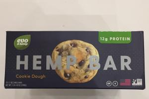Hemp Bar Cookie Dough