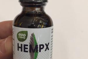 Hempx Hemp Extract White Plume Hemp 500 Mg Dietary Supplement Tincture