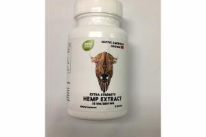 EXTRA STRENGTH HEMP EXTRACT DIETARY SUPPLEMENT SOFTGELS