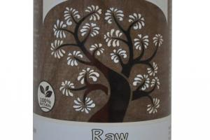 RAW BLACK SOAP WITH FAIR TRADE SHEA BUTTER, UNSCENTED