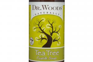 TEA TREE CASTILE SOAP WITH FAIR TRADE SHEA BUTTER FOR ALL SKIN TYPES