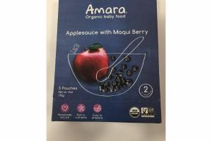 APPLESAUCE WITH MAQUI BERRY ORGANIC BABY FOOD