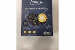 BLACK BEANS & SWEET CORN ORGANIC BABY FOOD