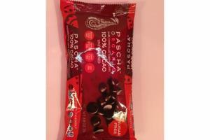 100% CACAO UNSWEETENED DARK CHOCOLATE BAKING CHIPS