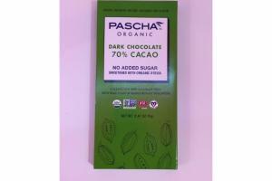 70% CACAO DARK CHOCOLATE