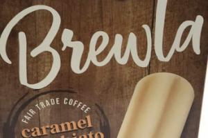CARAMEL MACCHIATO FAIR TRADE COFFEE ICE CREAM BARS