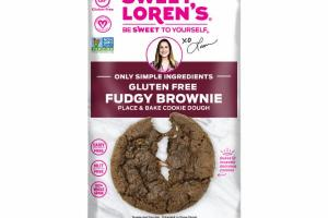 FUDGY BROWNIE COOKIE DOUGH