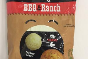 Honestly Veggie Bbq & Ranch Flavored Baked Vegetable Snack