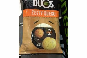 ZESTY QUESO FLAVORED BAKED VEGETABLE SNACK
