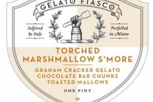 TORCHED MARSHMALLOW S'MORE GELATO