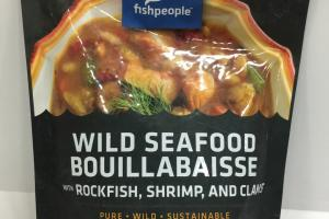 Wild Seafood Bouillabaisse With Rockfish, Shrimp, And Clams