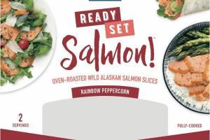 RAINBOW PEPPERCORN SALMON