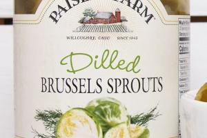DILLED BRUSSELS SPROUTS