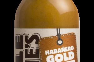 HABANERO GOLD ONE-HIT HOT SAUCE