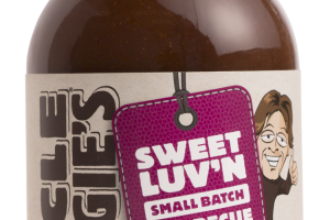 SWEET LUV'N SMALL BATCH BARBECUE SAUCE
