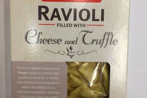Ravioli Filled With Cheese And Cruffle