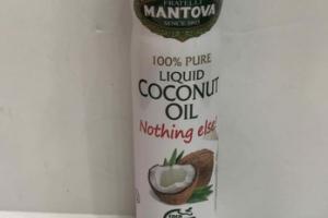 100% PURE LIQUID COCONUT OIL