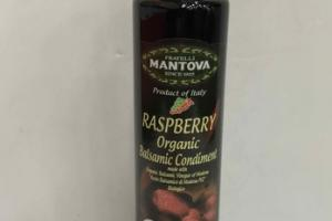 RASPBERRY ORGANIC BALSAMIC CONDIMENT