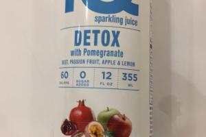 Sparkling Juice Detox With Pomegranate