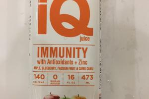 Immunity With Antioxidants + Zinc Juice