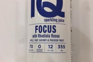 Focus With Rhodiola Rosea Sparkling Juice