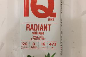 Radiant With Kale Juice