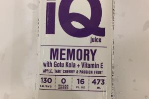 Memory With Gotu Kola + Vitamin E Juice