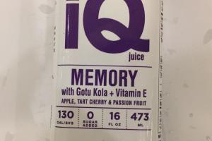 Memory With Gotu Kola + Vitamin E Juice