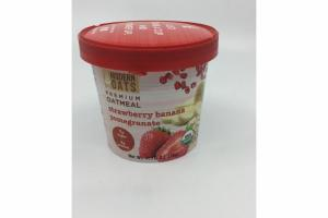 PREMIUM OATMEAL STRAWBERRY BANANA POMEGRANATE
