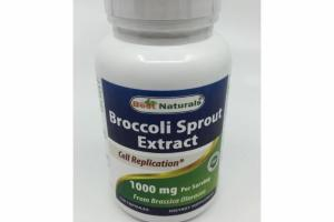 BROCCOLI SPROUT EXTRACT 1000 MG DIETARY CAPSULES CAPSULES