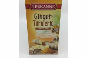 CAFFEINE-FREE GINGER TURMERIC HERBAL INFUSION TEA