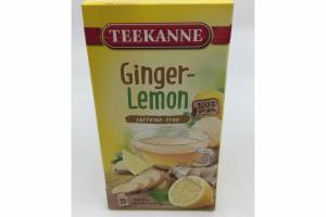 100% NATURAL GINGER-LEMON TEA BAGS