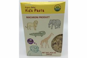 ORGANIC SAFARI KID'S PASTA MACARONI PRODUCT