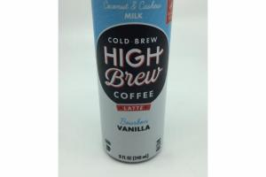 VANILLA BOURBON LATTE COCONUT & CASHEW MILK COLD BREW COFFEE