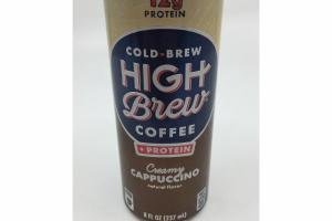 CREAMY CAPPUCCINO COLD-BREW COFFEE
