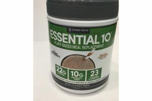 BELGIAN CHOCOLATE PLANT-BASED MEAL REPLACEMENT POWDER