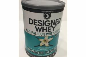 FRENCH VANILLA NATURAL 100% WHEY PROTEIN POWDER