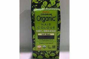 100% ORGANIC SOFT BLACK HAIR COLOUR