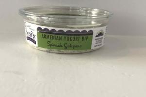 SPINACH JALAPENO ARMENIAN YOGURT DIP