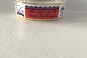 ROASTED RED PEPPER ARMENIAN YOGURT DIP