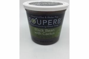BLACK BEAN WITH CACTUS