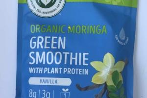 VANILLA ORGANIC MORINGA GREEN SMOOTHIE MIX