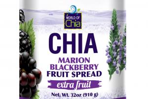 CHIA MARION BLACKBERRY FRUIT SPREAD
